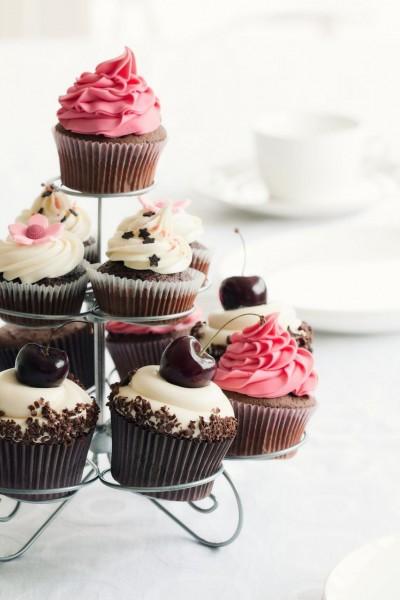 Cupcake-Ständer Edlestahl 20 cm