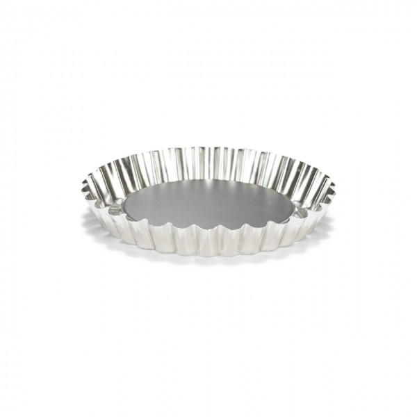 Mini-Quiche / Tartelettform Basic Weißblech 12 cm