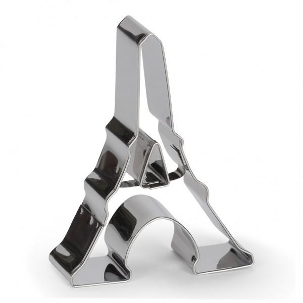 Ausstechform Eiffelturm Edelstahl 8 cm