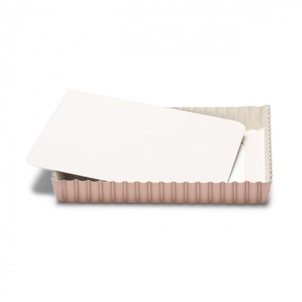Quiche- / Tarteform quadratisch mit Hebeboden 21 cm | Ceramic