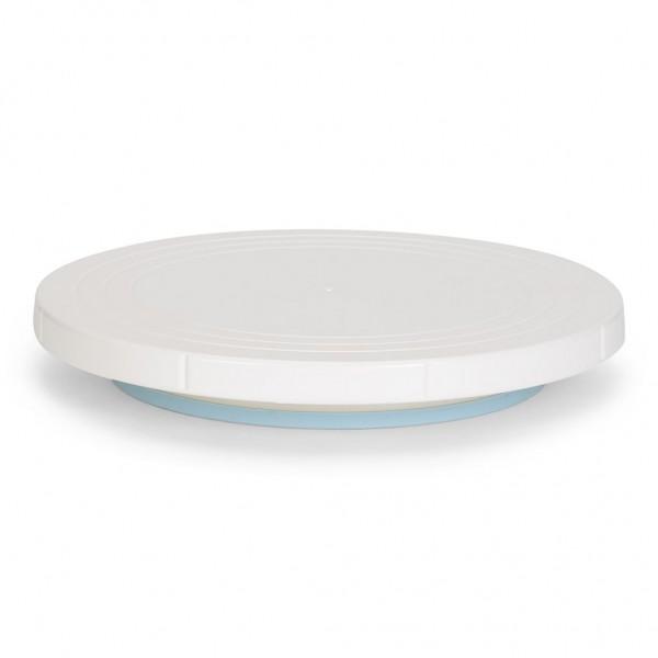 Tortenplatte drehbar weiß Ø 27 cm
