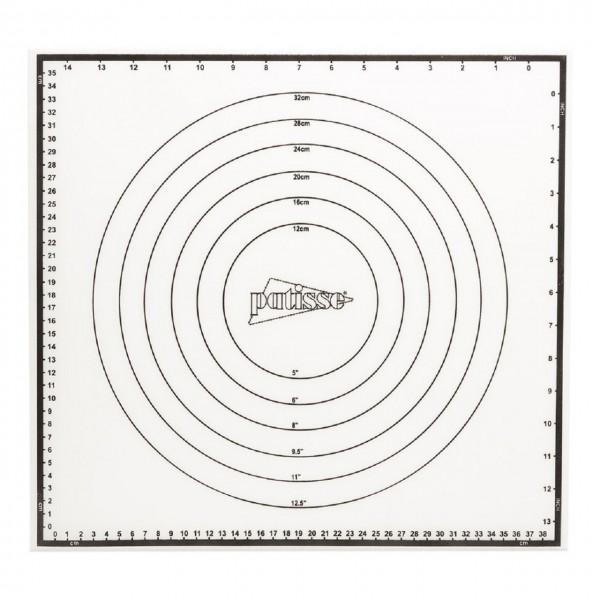 Silikon Backmatte mit verschiedenen Einteilungen 42x39 cm