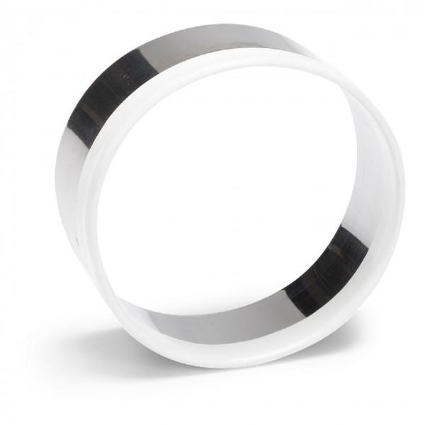 Ausstechform Edelstahl Kreis mit Kunststoffrand