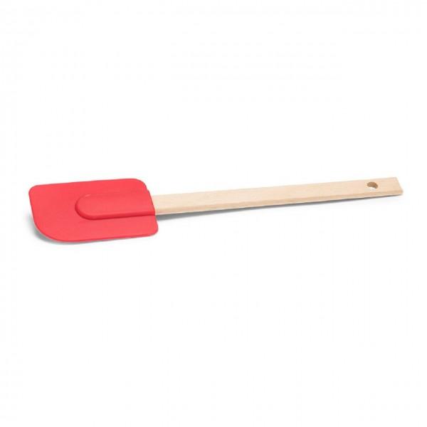 Silikon Teigschaber mit abziehbarem Kopf rot