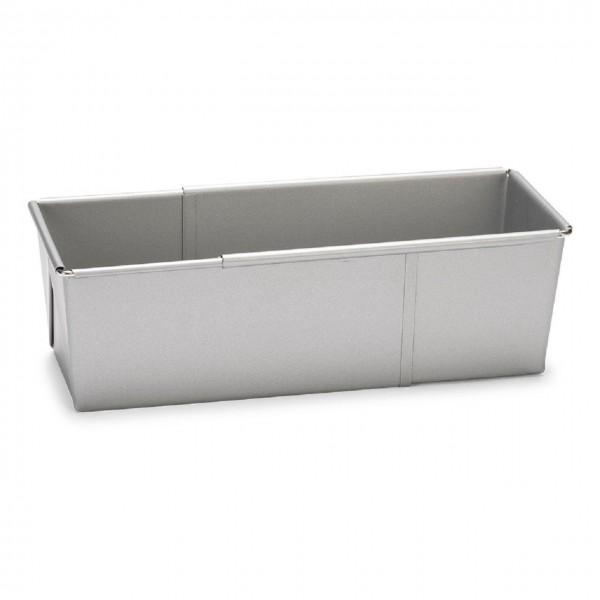 Brotbackform ausziehbar 20 bis 35 cm   Silver-Top