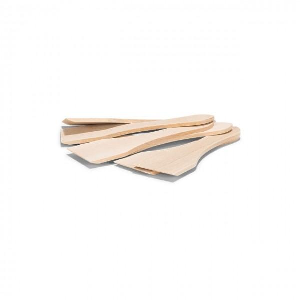 Holz Raclette-Spatel Set 6-teilig