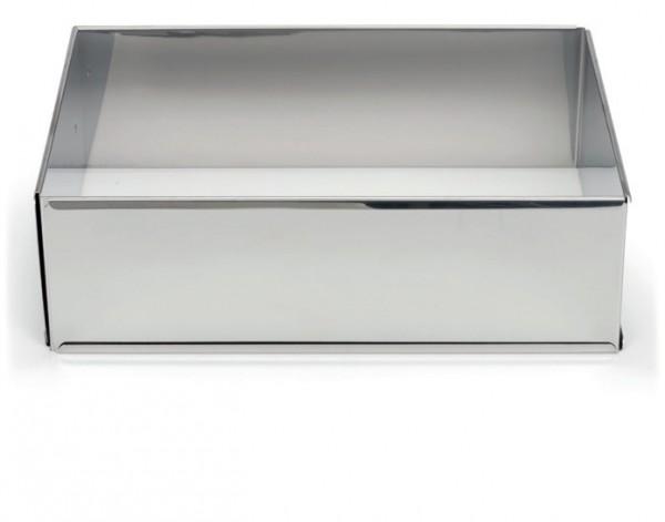 Backrahmen verstellbar Edelstahl 25 - 46 / 17 - 32 cm