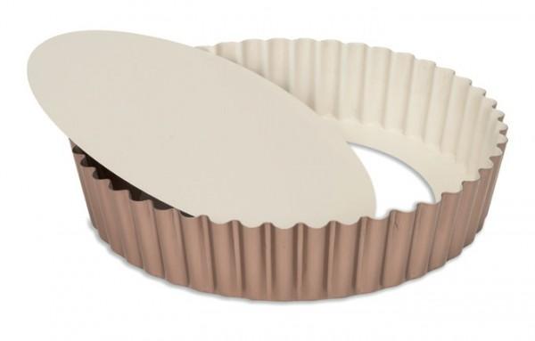 Quicheform mit Hebeboden und hohem Rand 25 cm | Ceramic