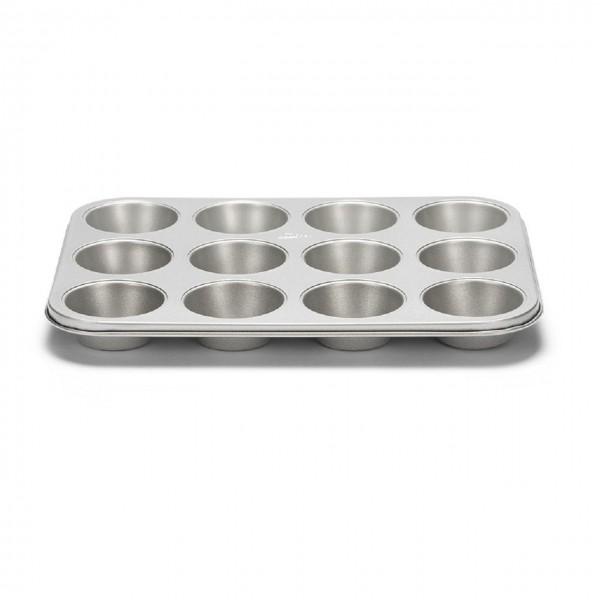 12er Muffinform | Silver-Top