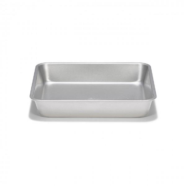 Auflaufform / Kuchenblech quadratisch 22x22cm | Silver-Top