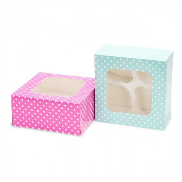 Cupcake- / Muffinboxen 2 Stück 16 cm