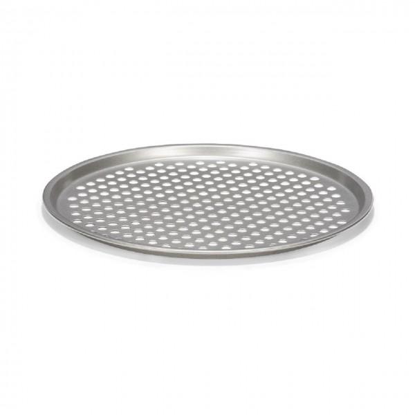Pizzablech gelocht Ø 31 cm | Silver-Top