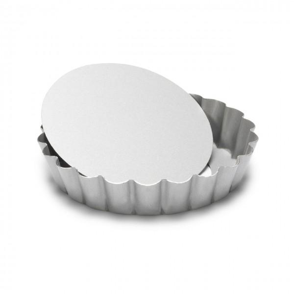 Mini-Quicheform / Tartelett Silver-Top mit Hebeboden 10 cm