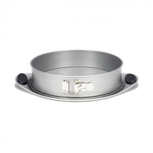 Springform mit Silikongriffen, auslaufsicher 26 cm | Silver-Top