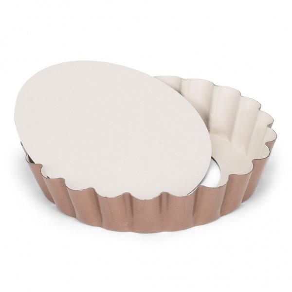 Mini Quicheform / Tartelett mit Hebeboden 10 cm | Ceramic