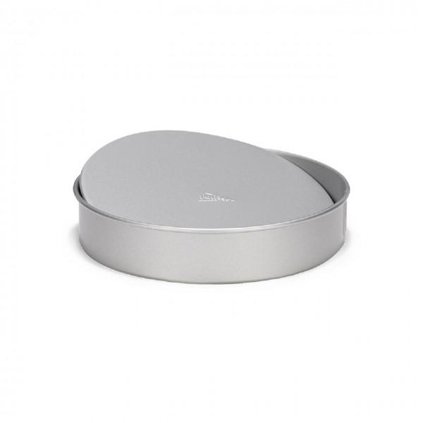 Tortenform rund mit Hebeboden   Silver-Top