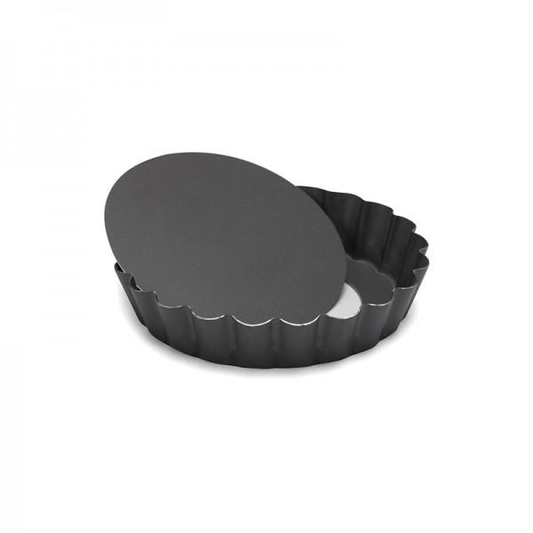 Mini-Quicheform / Tartelettform Profi mit Hebeboden 10 cm