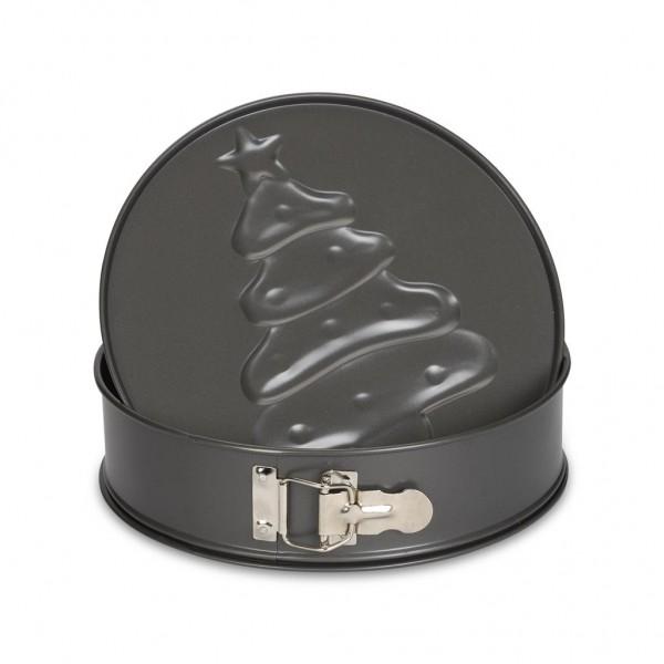 3D Springform Weihnachtsmotiv 24 cm Profi