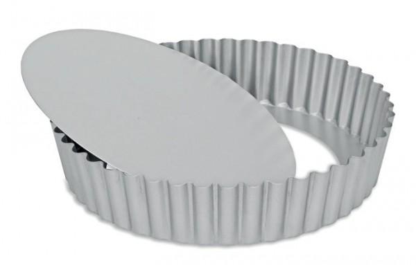 Quicheform mit hohem Rand und Hebeboden Ø 25 | Silver-Top