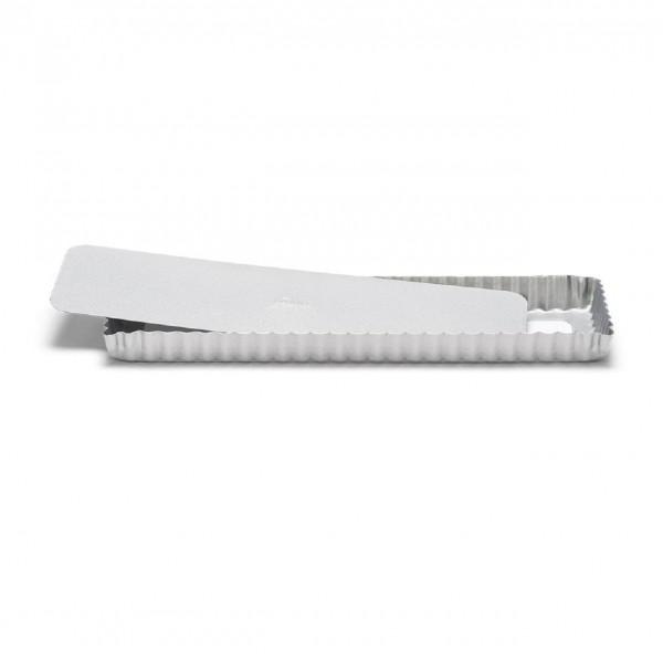Quiche- / Tarteform rechteckig mit Hebeboden 35 x 11 cm | Silver-Top