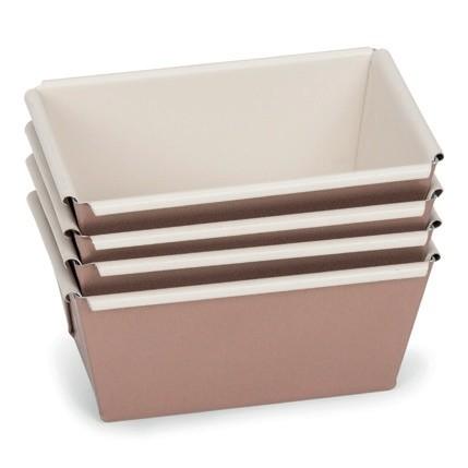 Mini Brotformen Set 4 tlg. 9 cm | Ceramic